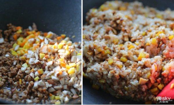 极客美食:香糯早餐-电饭煲版糯米烧麦