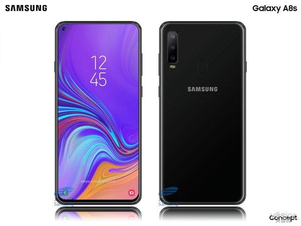 三星Galaxy A8s将取消耳机孔,首创挖孔屏瞩目
