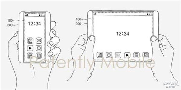 三星新屏幕专利曝光:可自由伸缩,变换尺寸