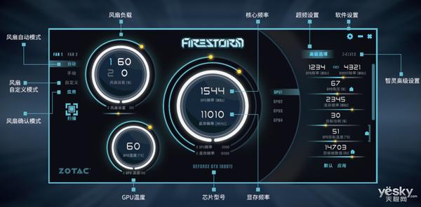 超频也可以这么简单,索泰FireStorm软件实用超频教程