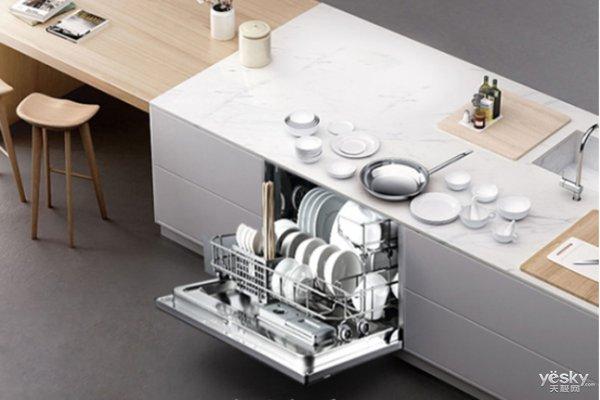 消费升级 洗碗机将成国内厨房电器新标配