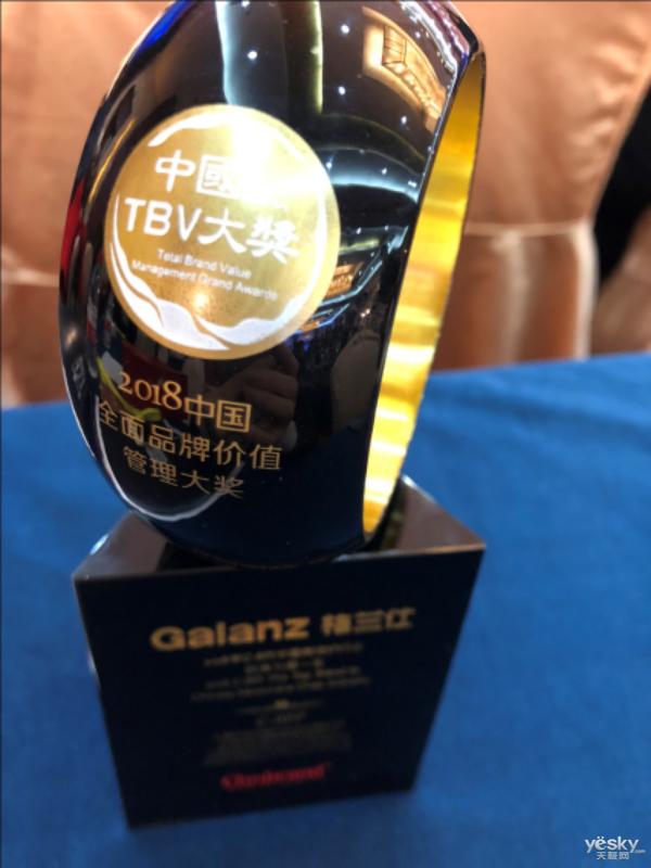 微波炉第一品牌  格兰仕荣获TBV大奖