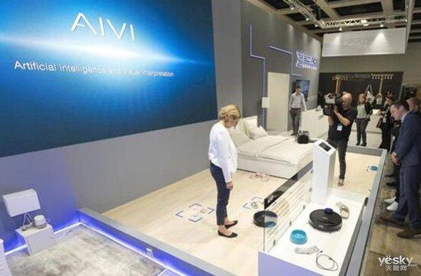 科沃斯机器人亮相纽约 引领全球智能生活