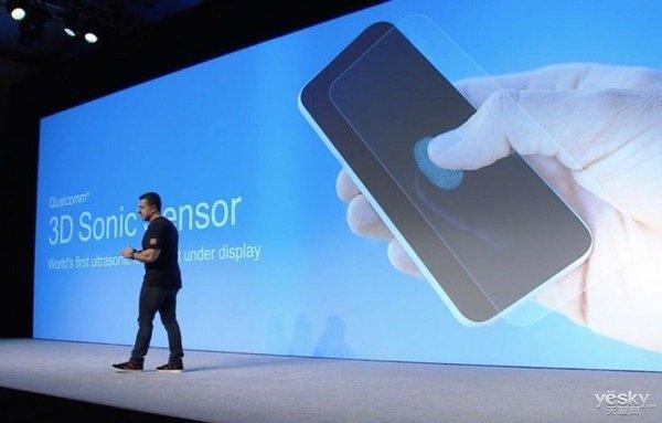 高通宣布全球首个屏下3D超声波指纹技术,三星Galaxy S10有望首发