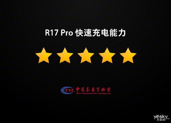 50W快充时代来临 OPPO R17 Pro超级闪充售价3999元起