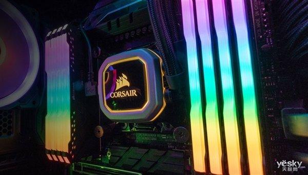 海盗船发布复仇者内存RGB增强套装:售价40美元