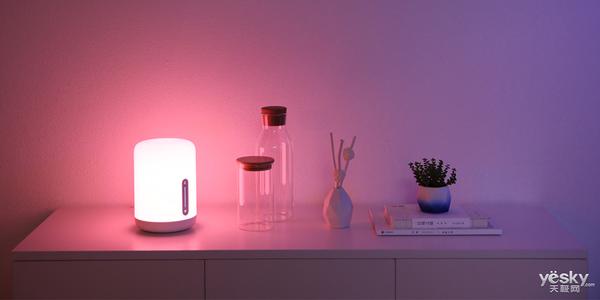 支持米家和Apple HomeKit 米家床头灯2发布售价169元
