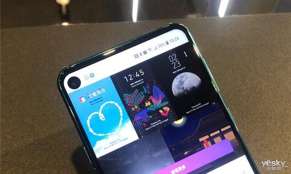 三星首款挖孔屏手机发布:12月最佳已板上钉钉?