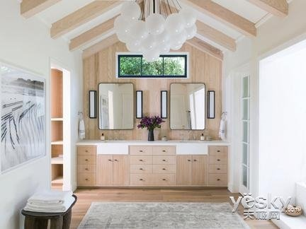 简约自然的原木风   每个家里都能契合
