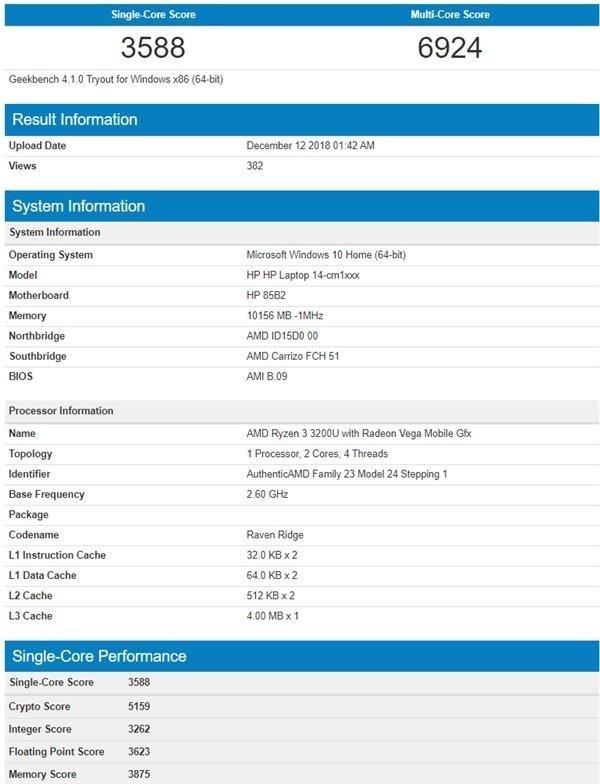 AMD新锐龙APU曝光:12nm工艺加Zen+架构