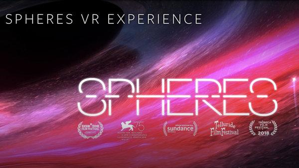 带你走进宇宙深处 VR电影《SPHERES》将在纽约公映