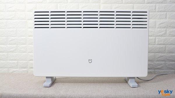 居浴两用+智能操控 米家电暖器体验评测