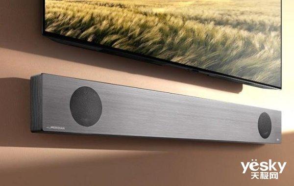LG首创的智能条形音箱就要来了 就在CES 2019