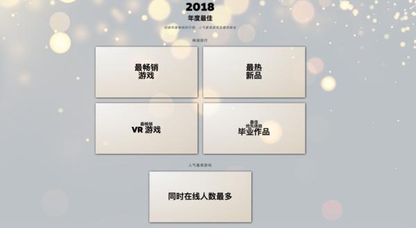 """Steam公布""""2018年度最佳""""榜单,你玩过几个?"""