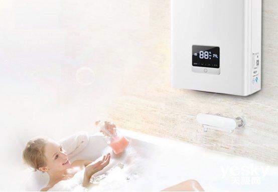 热水时间短洗到瑟瑟发抖?那是没用燃气热水器