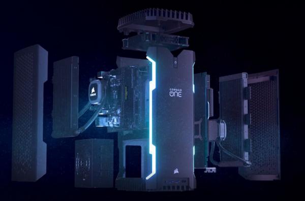 海盗船发布One系列主机 最高i9+RTX2080Ti