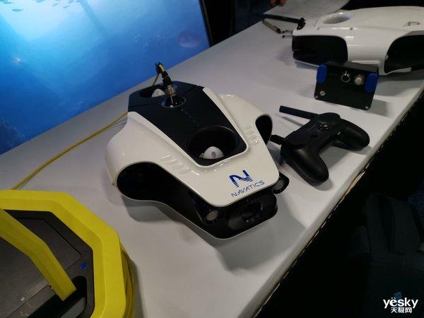 CES2019预展现场,Navatics MITO水下最稳的无人机亮相