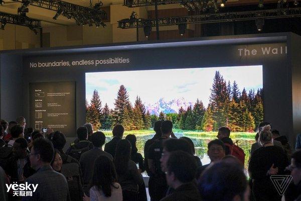 三星Micro LED 4K电视第二代发布,最小75英寸可家用,但价格不菲