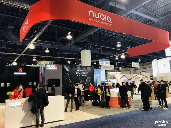 努比亚携红魔Mars电竞手机出席CES2019展会