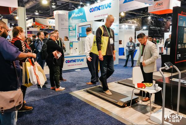 与多国参展商签单 WalkingPad走步机美国CES展会惊艳首秀
