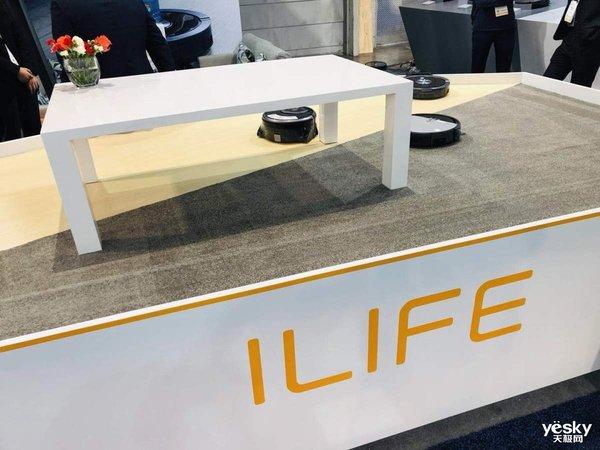 CES2019:ILIFE智意多款智能扫地机器人亮相