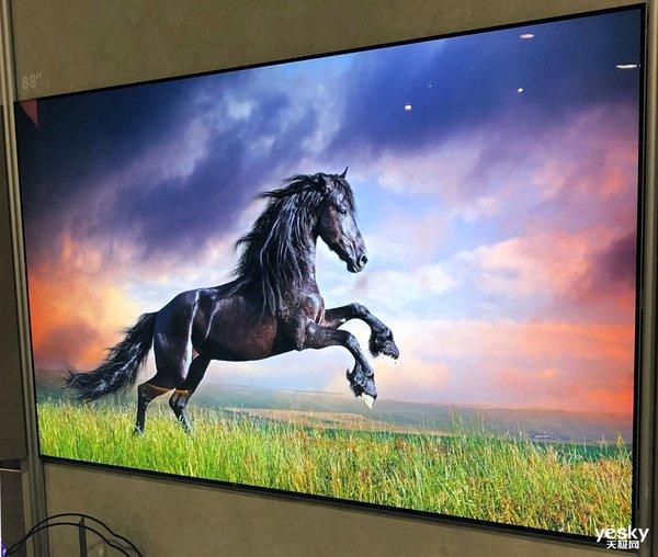 CES2019:创维展示全球首台88��8K画质OLED电视