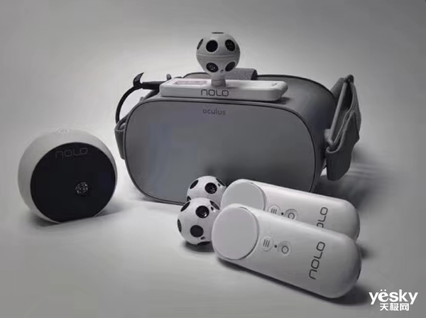 CES 2019:NOLO VR现场展示5G云VR设备雏形