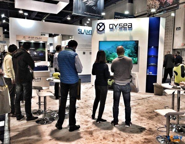 大秀全系产品 鳍源科技CES2019再发三大水下技术新突破