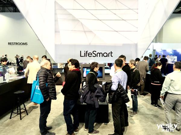 LifeSmart云起亮相CES2019 实力抢占物联网C位
