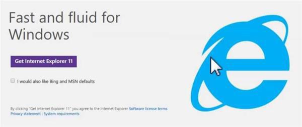 微软悄然开放IE11升级通道:明年停止IE10维护