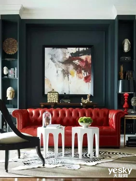我们过年就喜欢红红火火的  那家具用来做改变最好不过了!
