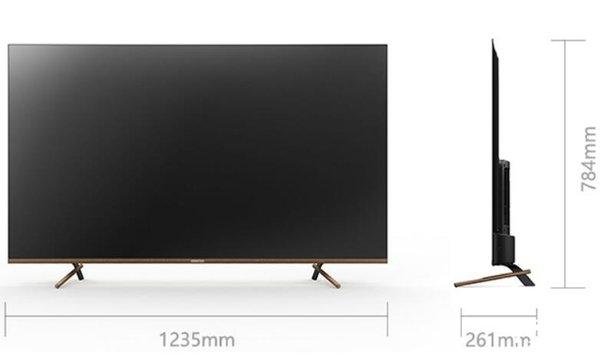 酷开55C60电视 全面屏护眼+人工智能语音