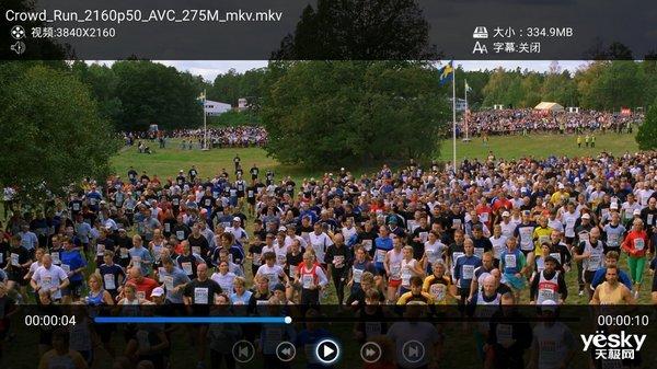 4K HDR+海思画质 海美迪H1000播放体验