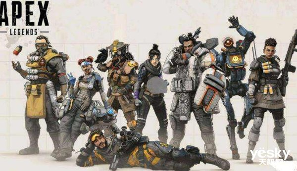 《Apex Legends》全球玩家数量超5000万!下个现象级游戏时代来临