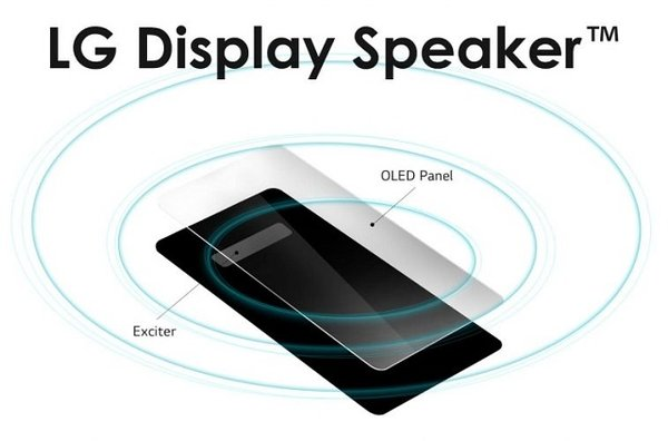 Display Speaker:LG为屏幕发声技术注册的新商标