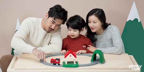 更多智能玩法 米兔轨道积木声光火车套装发布售99元