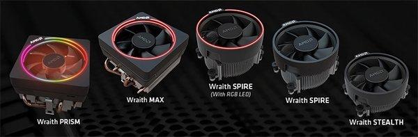 AMD原装散热器Wraith Max捆绑CPU销售