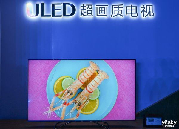 自研芯片和画质引擎加持,海信悬浮全面屏电视抢跑AWE