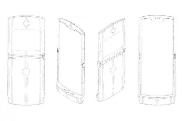 摩托罗拉折叠屏手机曝光 采用上下翻盖式折叠设计
