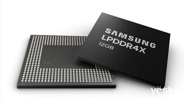 三星12GB容量LPDDR4X内存正式进入量产