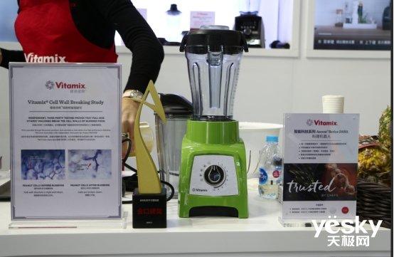 从美国红到中国AWE 制作多种美食只需一台Vitamix料理机