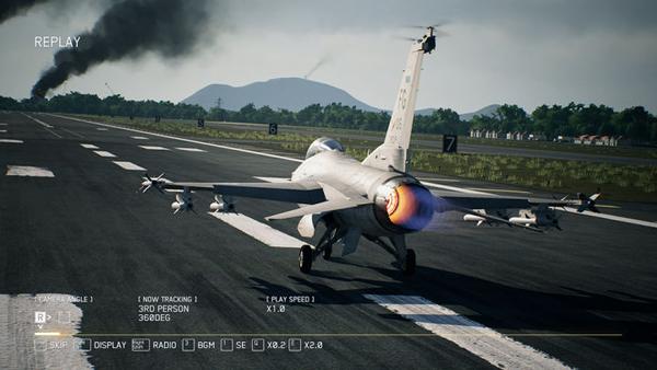 机械师王牌电竞主机F117-D实测《皇牌空战7》