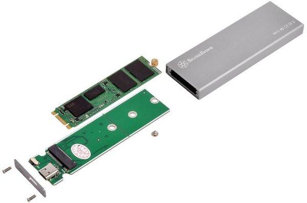 银欣发布MS10固态硬盘盒:支持M.2接口