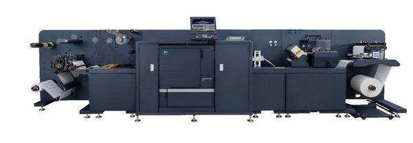 柯尼卡美能达新一代标签数字印刷系统AccurioLabel 230荣耀亮相