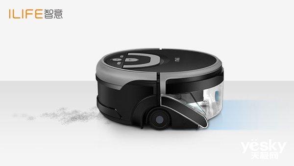 洁净更进一步――ILIFE智意W400洗地机器人
