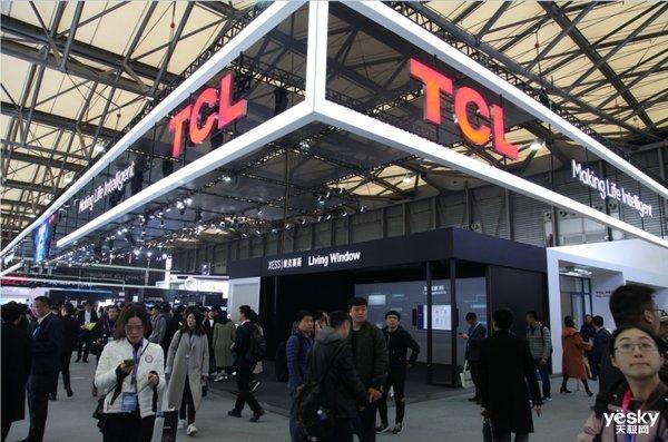 TCL 2019第一季度电视机销量高达844.3万台