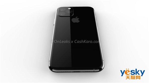新iPhone外形渲染图出炉:再次确认采用后置浴霸三摄