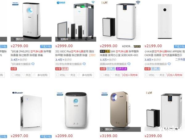 错过五一又如何? 这四款空气净化器现在买也划算!
