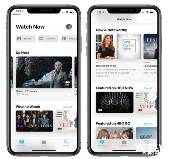 iOS 12.3正式推送:新TV app上线,国内用户感受不大