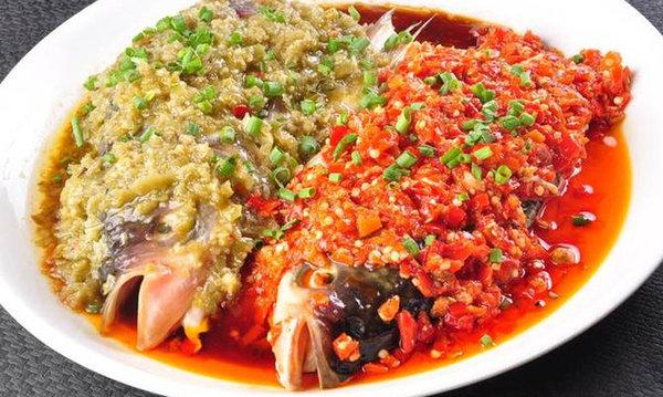 极客美食:鲜辣味美―电蒸箱版清蒸剁椒鱼头
